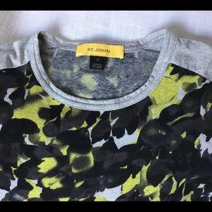 St John Knit T-Shirt size M